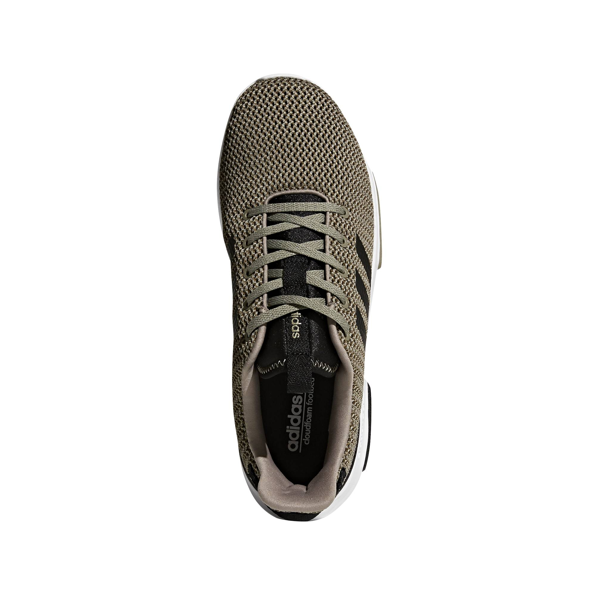 Greece Adidas Neo Running Summer Shoes White Casual Mens Grey