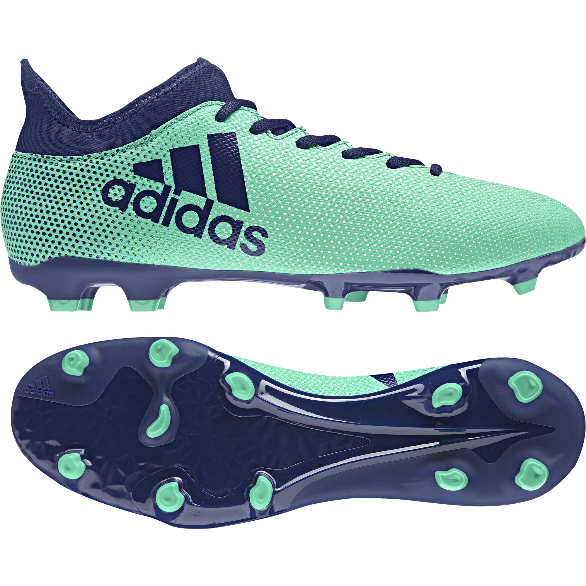 ADIDAS MEN FOOTBALL SHOES X 17.3 FIRM GROUND BOOTS CP9194