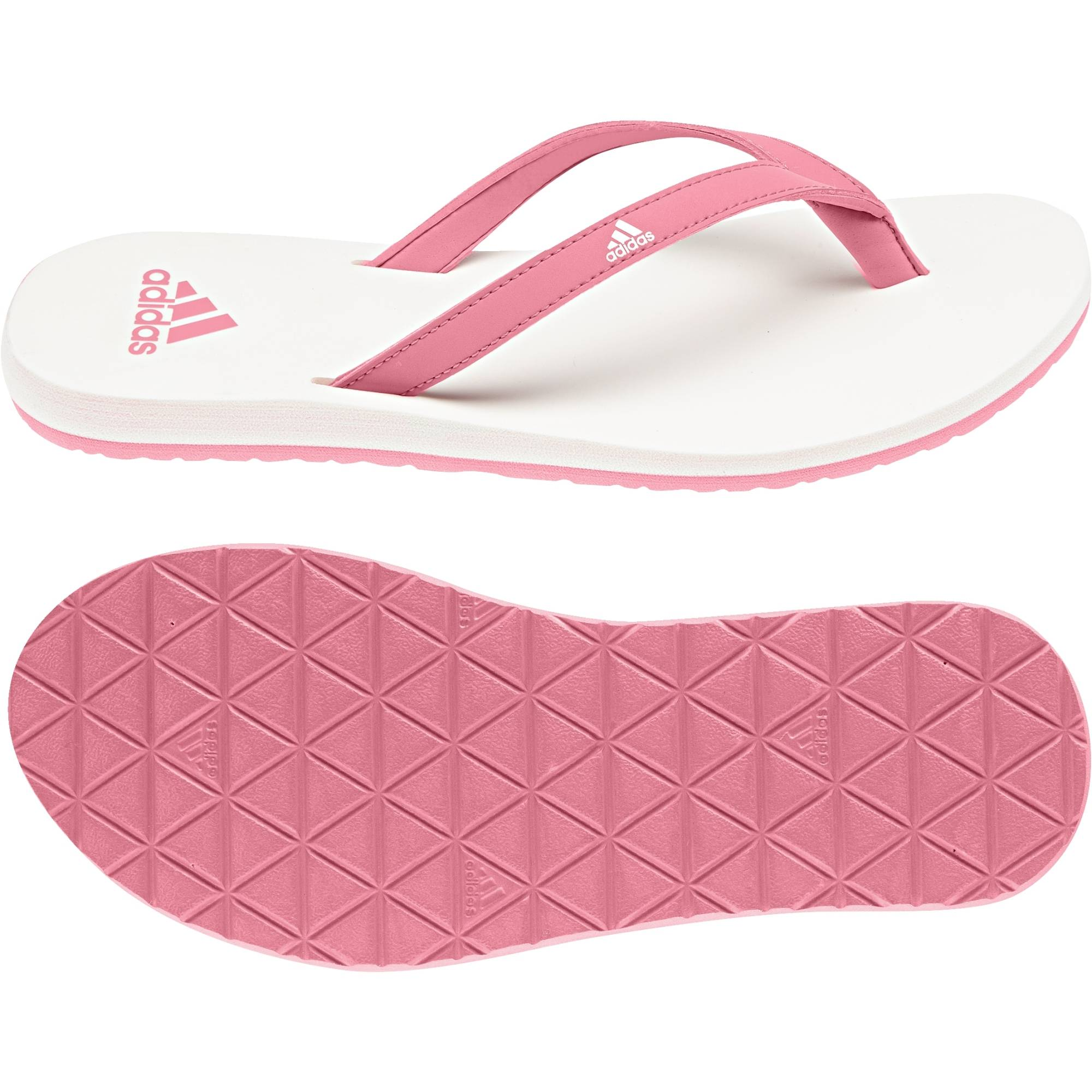 424a678a3a5c ADIDAS WOMEN SWIMMING EEZAY ESSENCE THONG FLIP FLOP SANDALS CG3556 ...