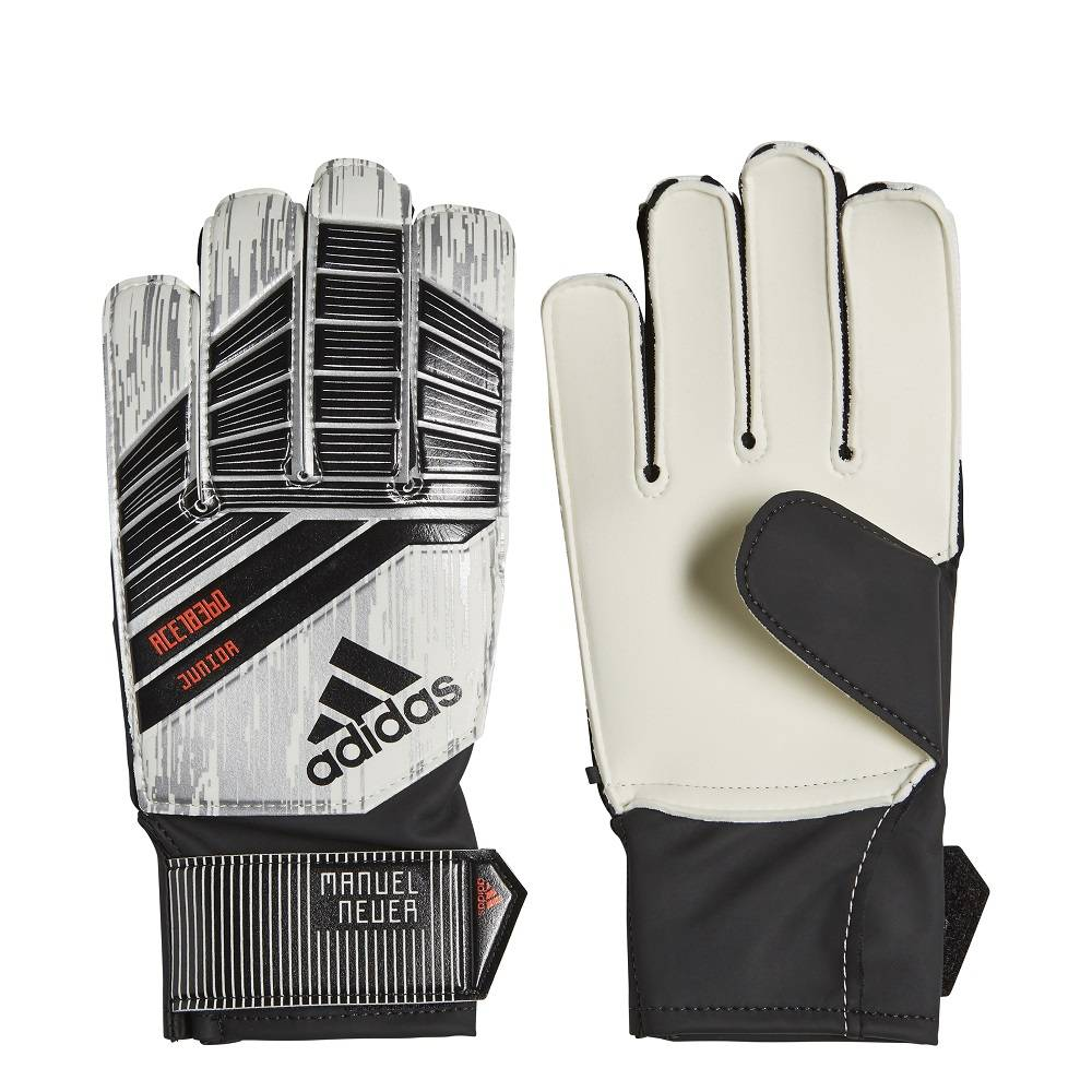 ADIDAS FOOTBALL ACCESSORIES PREDATOR JUNIOR MANUEL NUER GOALKEEPER GLOVES  CW5624  8e7fcf997a6