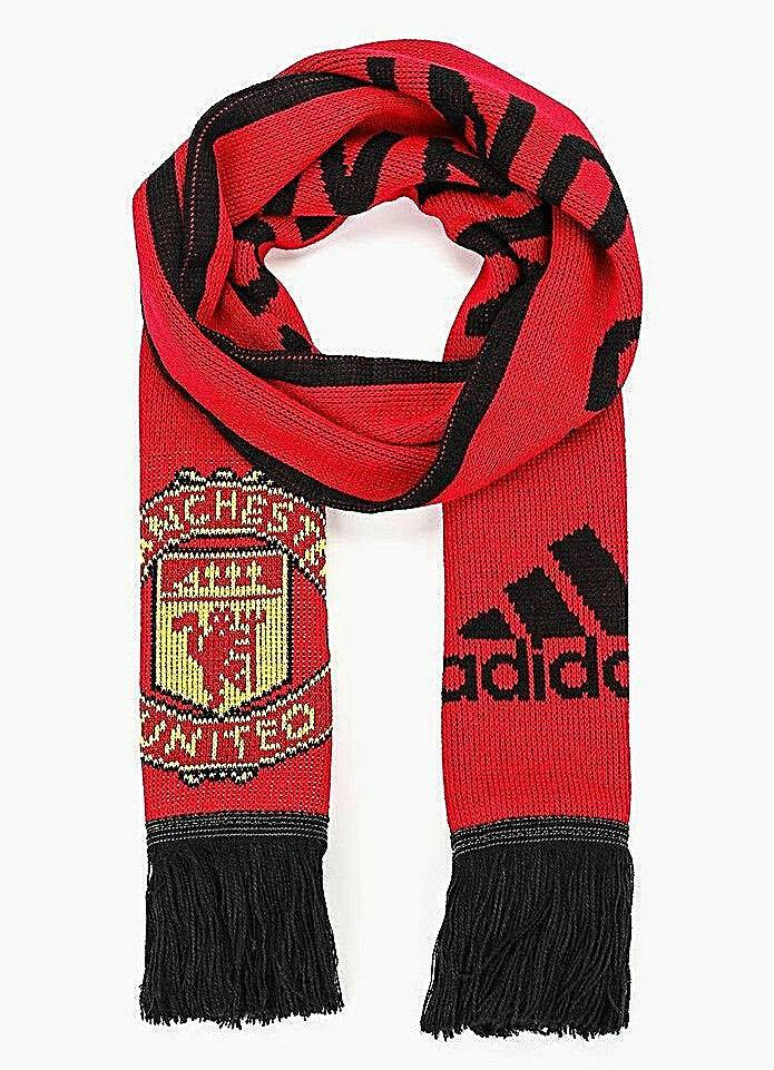 ADIDAS ACCESSORIES MANCHESTER UNITED FC SCARF CY5578