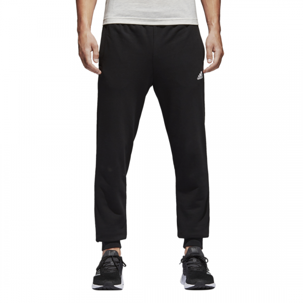 ADIDAS MEN CLOTHING ESSENTIALS TAPERED FRENCH TERRY PANTS BK7433