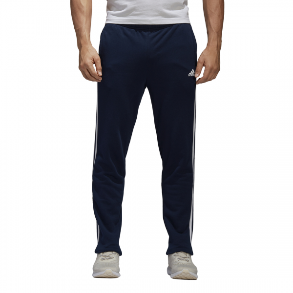 ADIDAS MEN CLOTHING ESSENTIALS 3-STRIPES TAPERED FRENCH TERRY PANTS BK7447
