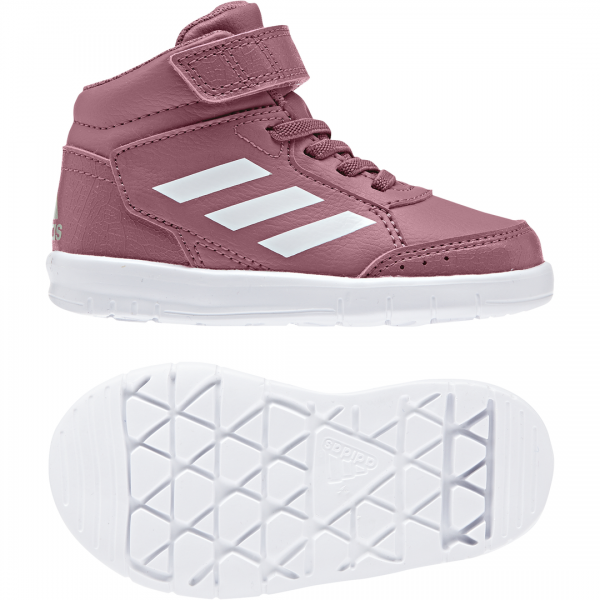 low priced 38322 86c74 ADIDAS KIDS INFANT GIRLS RUNNING ALTASPORT MID SHOES AH2551