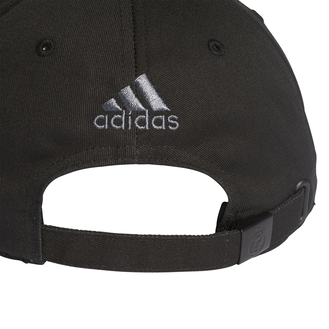 a9c3e7965af ADIDAS ACCESSORIES REAL MADRID 3-STRIPES CAP DQ1496