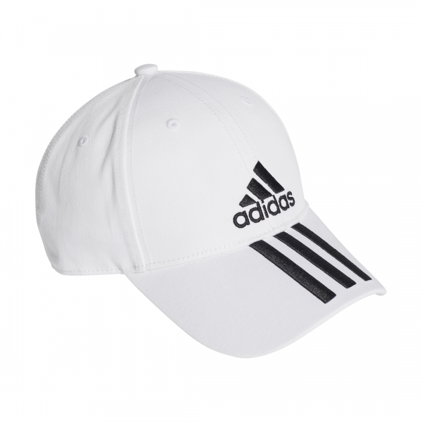 0acc3c02fea ADIDAS ACCESSORIES SIX PANEL CLASSIC 3-STRIPES CAP DU0197