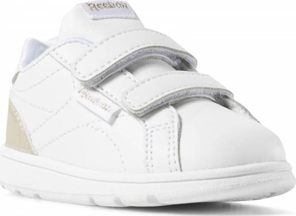 best sneakers 4c3eb f63be REEBOK INFANTS GIRLS ROYAL COMPLETE CLEAN 2V SHOES DV4148