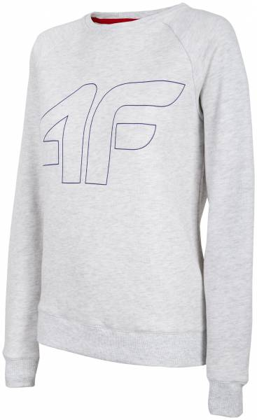 4F WOMEN CLOTHING SWEATSHIRT BLD001 WHITE