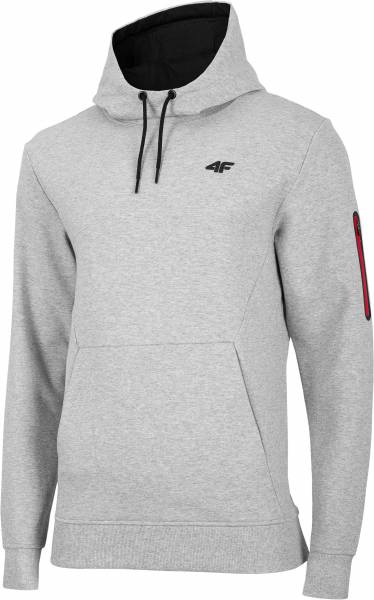 4F MEN CLOTHING HOODIE BLM070 GREY