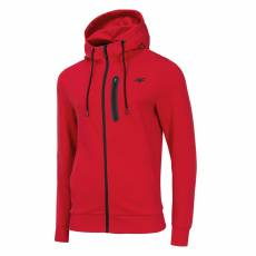 4F MEN CLOTHING ZIP HOODIE BLM076 RED