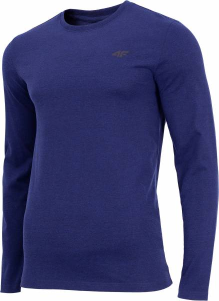 4F MEN CLOTHING LONGSLEEVE TEE TSML001 DARK BLUE